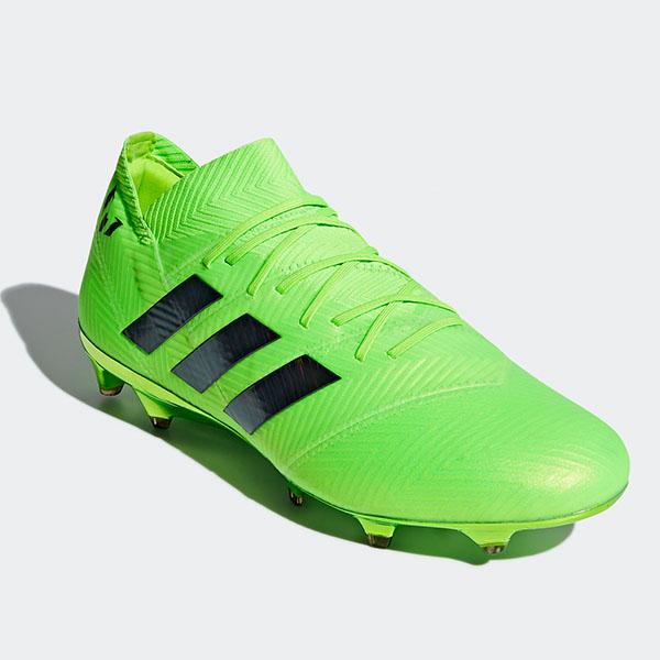 アディダス(adidas)ネメシス メッシ 18.1 FG/AGサッカースパイク メンズ (18aw)ソーラーグリーン/コアブラック/ソーラーグリーンDA9586【052817】