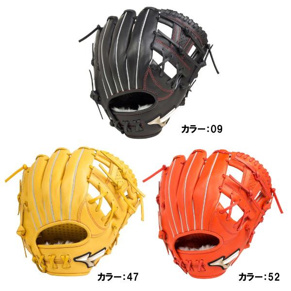 ミズノ(mizuno) 少年軟式用 グローバルエリートRG H Selection02 オールラウンド用:サイズM グラブ ジュニア (19ss) ブラック/ナチュラル/スプレンディッドオレンジ 右投げ 1ajgy20420 野球用品