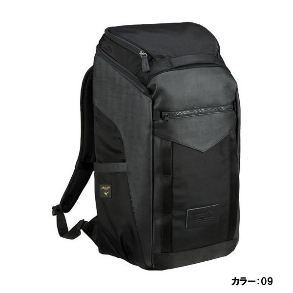 ミズノ(mizuno) ミズノプロ バックパックPTY バッグ ユニセックス メンズ レディース (19ss) ブラック L30×W20×H50cm 約30L 1fjd940209