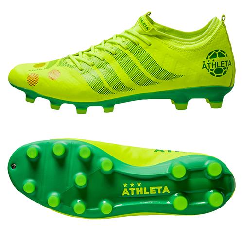 アスレタ (athleta) サッカースパイク CDB Futebol A002 メンズ (19aw) イエロー×グリーン 天然芝・人工芝・土用 20002-FYE/KGR【P10】