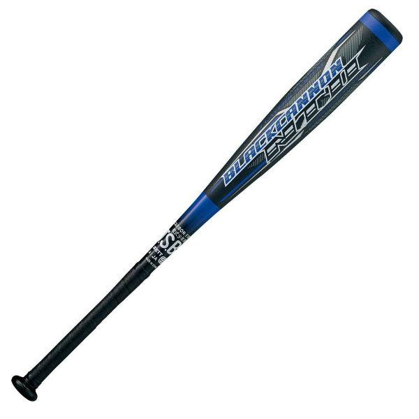 ゼット(ZETT) 少年軟式FRP製バット ブラックキャノン NT2 BLACKCANNON バット ジュニア (20ss) ブルー 76cm 550g平均 BCT71076-2300