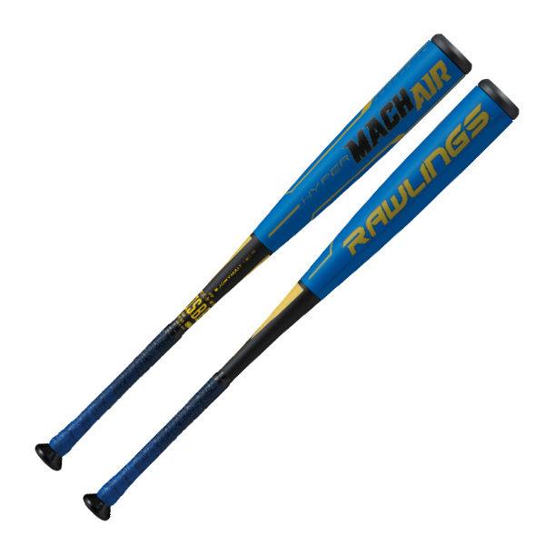 ローリングス(Rawlings) 少年軟式用バット HYPER MACH ハイパーマッハエアー ジュニア (20ss) ロイヤルブルー トップバランス FRP製 カーボン BJ9HYMAIT-RY