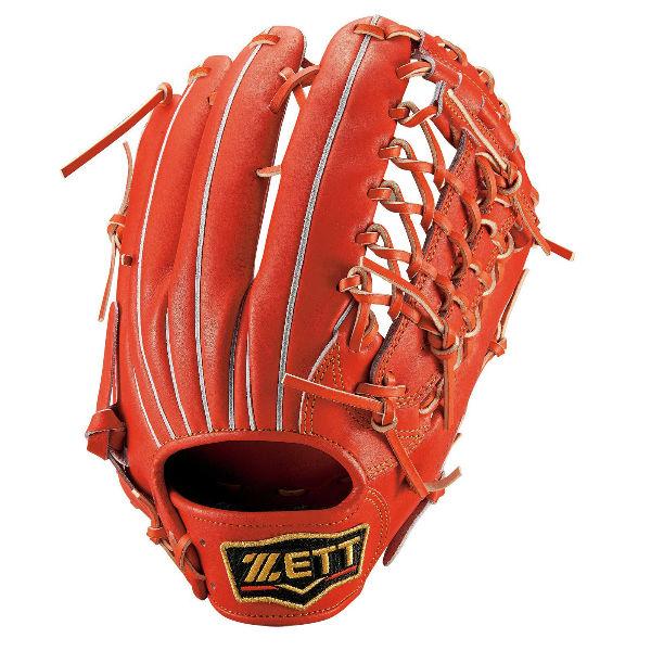 ゼット(ZETT) プロステイタス 一般軟式用グローブ 外野手用 (20ss) Dオレンジ BRGB30017-5800【P10】