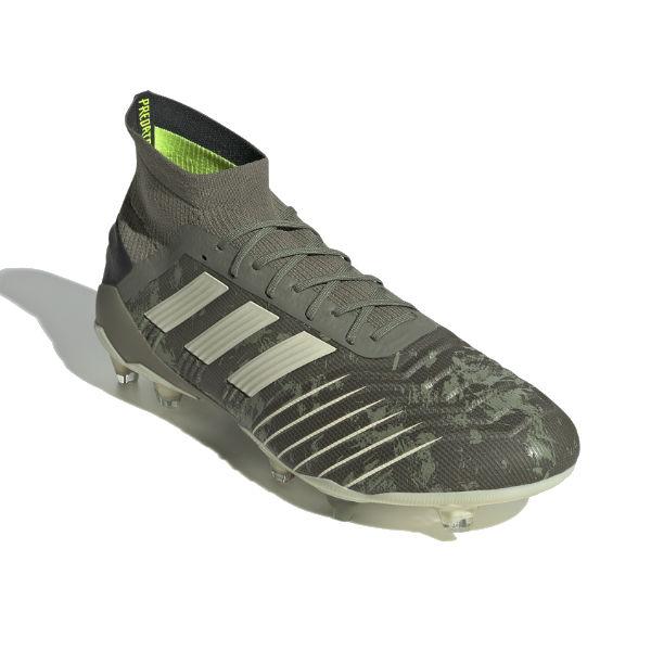 アディダス(adidas) サッカースパイク プレデター 19.1 FG (19aw) レガシーグリーン×サンド×ソーラーイエロー EF8205【1105】【P10】