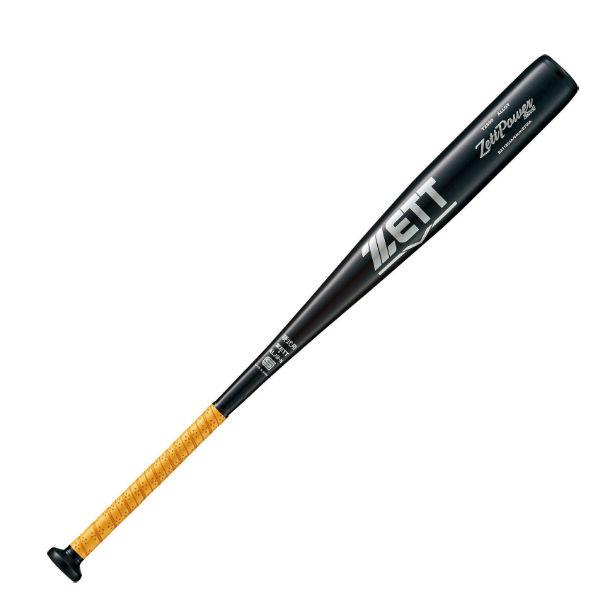 【最大4%OFFクーポン対象】ゼット(ZETT) 野球 硬式バット ゼットパワーセカンドZETT POWER 2ND (20ss) ブラック×シルバー ミドルバランス 83cm 900g BAT1853A-1913