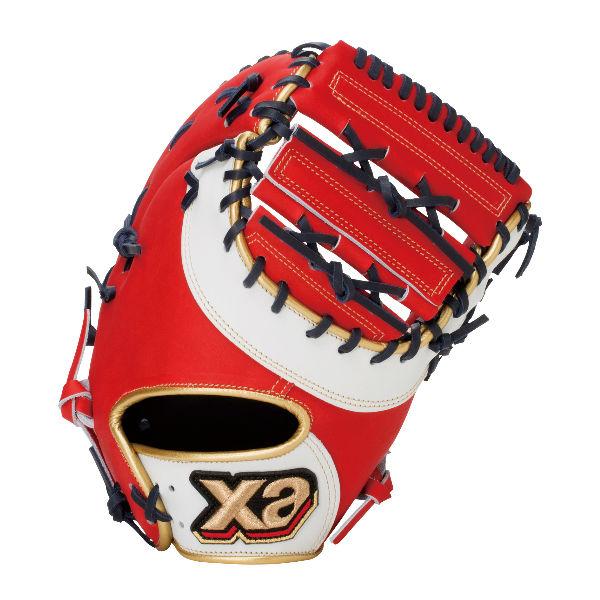 ザナックス(XANAX) 軟式 野球 グラブ 捕手用 ザナパワー (20ss) レッド×ホワイト 右投げ用 BRF3520S-2301【P10】