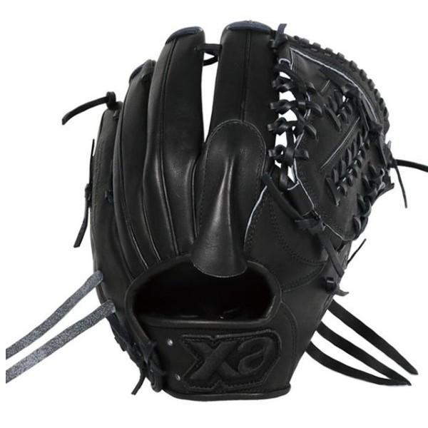 ザナックス(XANAX) 野球 一般軟式 投手用グラブ 右投用 グラブ トラスト ブラックライン (18fw) ブラック サイズ9 BRG-12718S-BLK