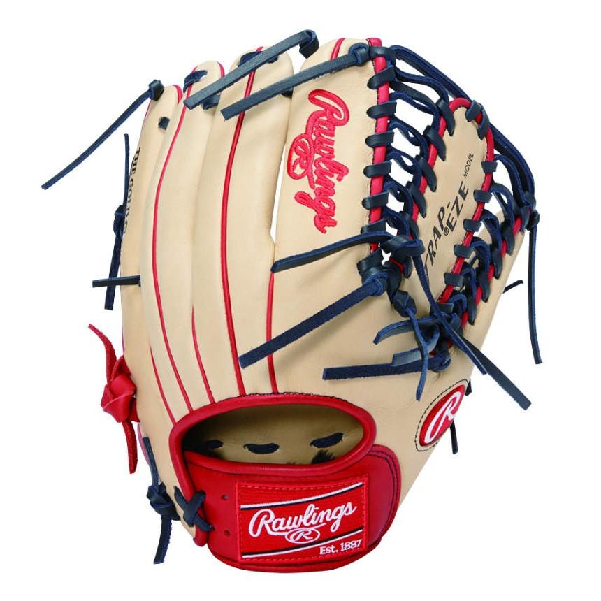 ローリングス (Rawlings) 軟式 野球 内野手用 HOH MAJOR STYLE メジャースタイル (20ss) キャメル×スカーレット 右投げ用 サイズ11.25 GRXHMOS2-CAMS【P10】