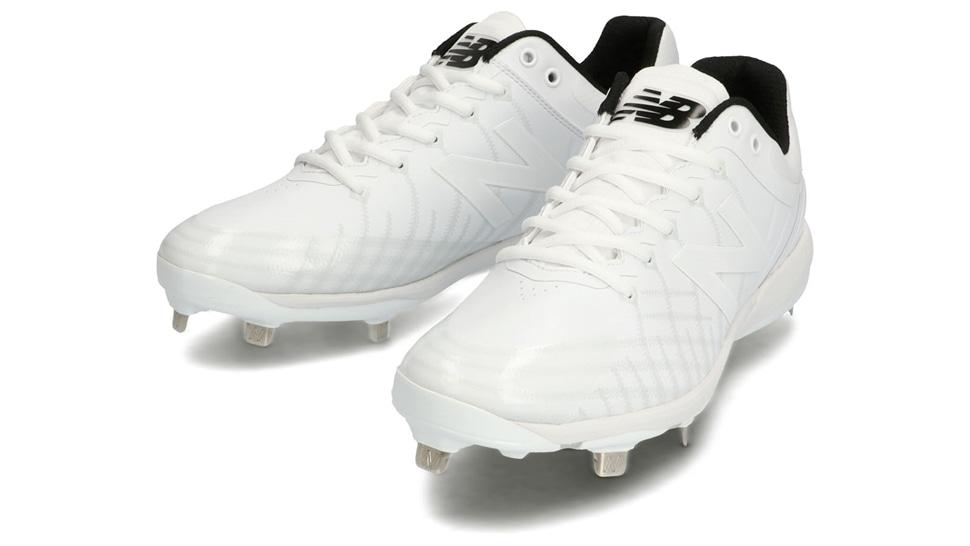 ニューバランス(new balance)野球用スパイク ユニセックス (20aw) ホワイト 靴幅:2E L4040JW52E