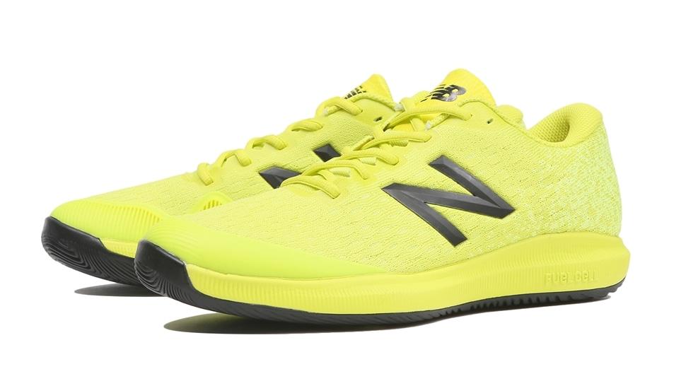 ニューバランス(Newbalance) テニスシューズ シューズ FuelCell 996 H S4 メンズ イエロー オールコート 4E ワイド MCH996S44E