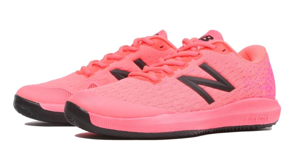 ニューバランス(Newbalance) テニスシューズ シューズ FuelCell 996 H G4 レディース グァバ ピンク オールコート D WCH996G4D
