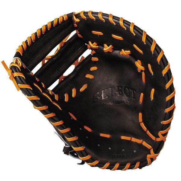 ウイルソン(wilson)野球硬式用ミット ブルペンミット SELECT セレクト 一塁手用 一般用 23N ブラック 右投げ用 WTAHBT33N-90