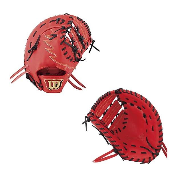 ウイルソン(wilson)野球硬式用グラブ Wilson Staff ウイルソンスタッフ デュアル 一塁手用 一般用 Eオレンジ 右投げ用 WTAHWD39W-22