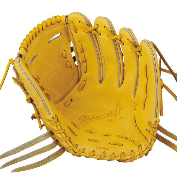 【最大4%OFFクーポン対象】ウイルソン(wilson)野球 硬式用 投手用グローブ Wilson Staff ウイルソンスタッフ 1W 一般用 ライム 右投げ用 サイズ9 WTAHWT1WM-32