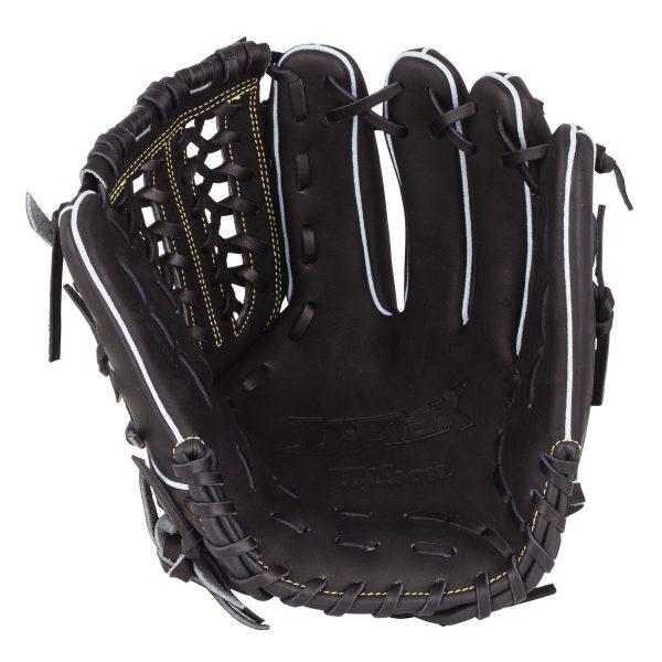 【最大4%OFFクーポン対象】ウイルソン(wilson)野球 軟式用 内野手用グローブ D-MAX ディーマックス 5W 一般用 ブラック 右投げ用 サイズ6 WTARDS5WP-90