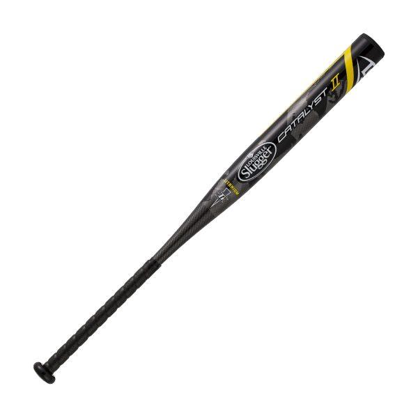 ルイスビルスラッガー (Louisville Slugger) ソフトボール用バット ゴム3号 CATALYST 2 カタリスト 一般 ブラック 84cm/680g平均 トップバランス WTLJGS17T