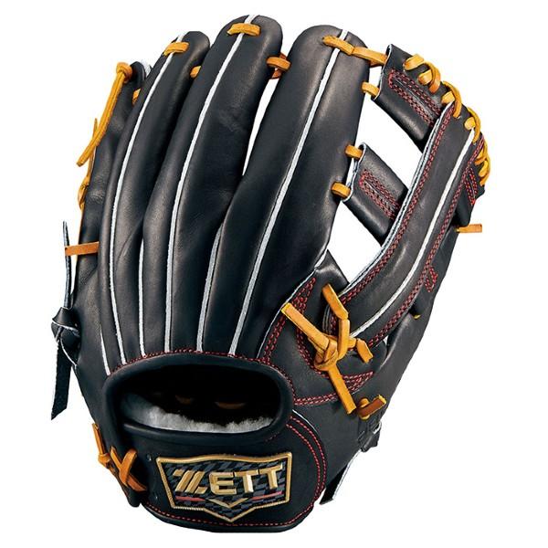 ゼット(zett) 硬式野球 グローブ プロステイタス プレミアム 内野手用 (20ss) ブラック BPROGP6-1900