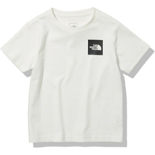 ジュニア キッズ 子ども 半袖 シャツ アウトドア ノースフェイス THE マーケティング 販売 NORTH FACE Square NTJ32141-W 21ss ホワイト S Logo Tシャツ Tee スモールスクエアロゴティー Small