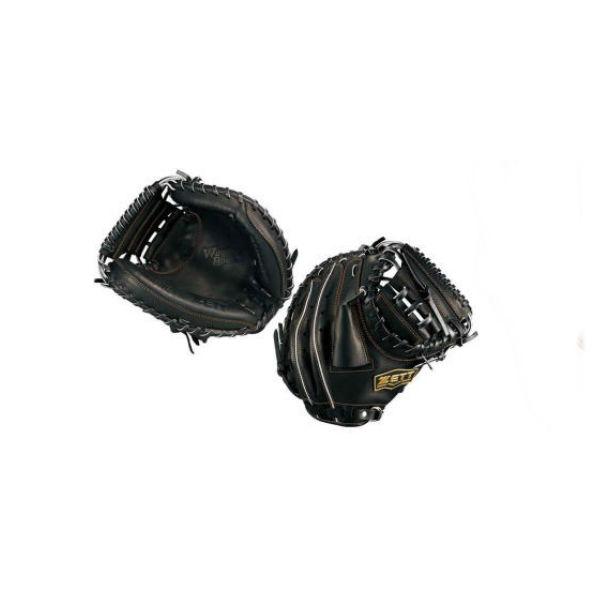 ゼット(ZETT) ウイニングロード ジュニア 軟式 キャッチャーミット少年野球用 (18ss) ブラック 右投げ用BRCB33812-1900