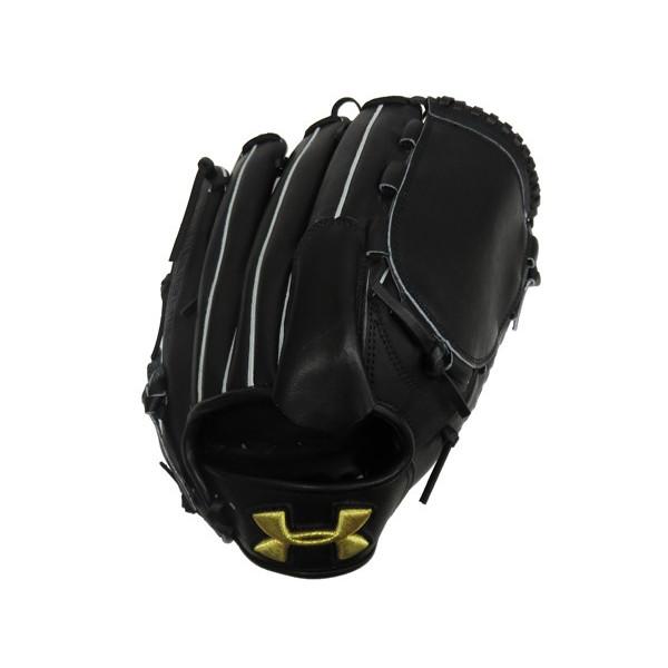 アンダーアーマー(UA)野球グラブ(硬式右投げ投手用)ブラック QBB0018-BLK【SS1803】