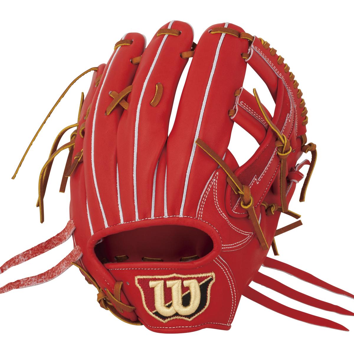 ウイルソン(wilson)W/S 一般硬式野球用 内野手用グラブ(右投げ)(18ss) Eオレンジ WTAHWR47T-22 野球用品