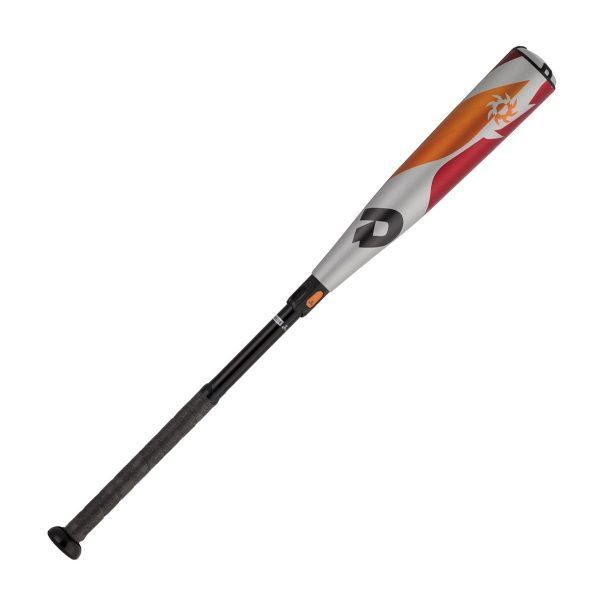 【最大4%OFFクーポン発行中】ディマリニ(DeMARINI) VOODOO(ヴードゥ)新基準対応リトルリーグバット 少年硬式バット 硬式野球用バット (17AW) シルバー×オレンジ 76cm 79cm 81cm WTDXJLRUD 野球用品