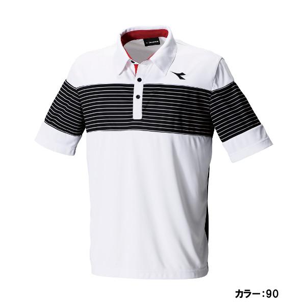 ディアドラ(diadora) JRゲームシャツ シャツ ジュニア (18ss) ホワイト dtj8339-90【P8T】