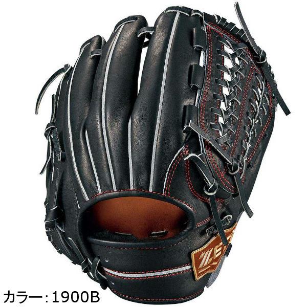 ゼット(zett) ネオステイタス 硬式グラブ 二塁手・遊撃手用 (18SS) ブラック(レッドラベル) BPGB12820-1900B