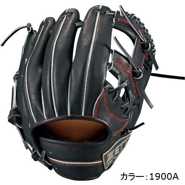 ゼット(zett) ネオステイタス 軟式グラブ 二塁手・遊撃手用 (18SS) ブラック BRGB31810-1900A