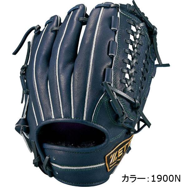 ゼット(zett) ネオステイタス 軟式グラブ 二塁手・遊撃手用 (18SS) Nブラック BRGB31820-1900N