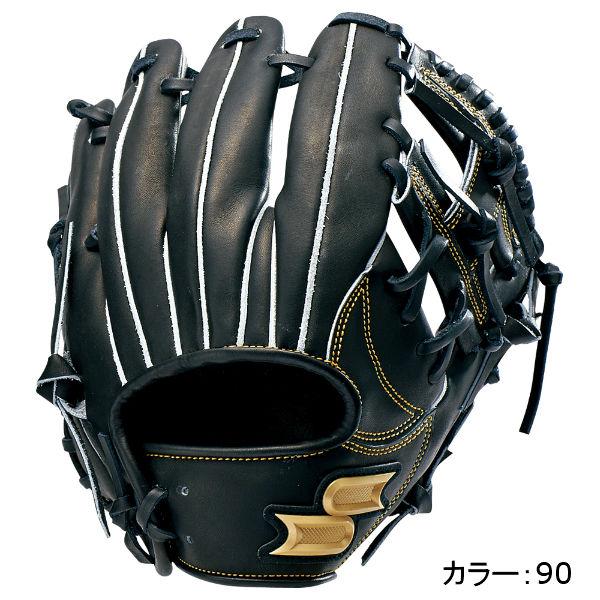 エスエスケイ(SSK) プロエッジ 硬式グラブ 内野手用 (18SS) ブラック PEK34018-90