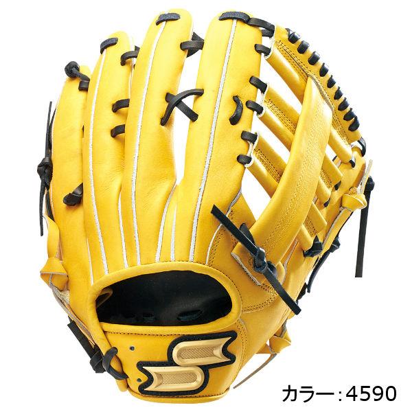 エスエスケイ(SSK) プロエッジ 硬式グラブ 外野手用 (18SS) ライトタン×ブラック PEK37018-4590 野球用品