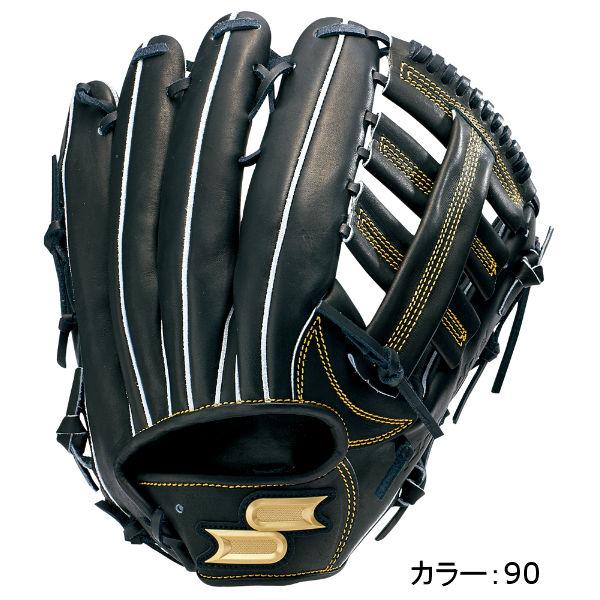 エスエスケイ(SSK) プロエッジ 硬式グラブ 外野手用 (18SS) ブラック PEK87518-90
