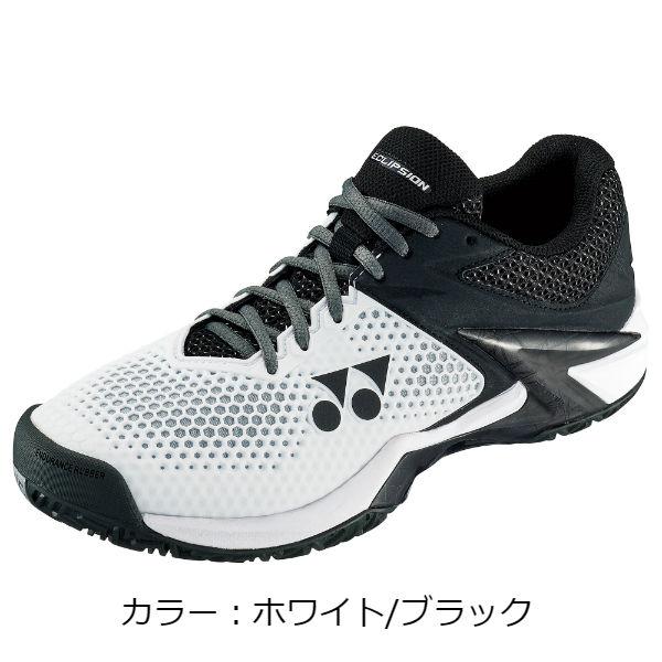 ヨネックス(yonex) パワークッションエクリプション2 メン AC テニスシューズ (18AW) ホワイト/ブラック SHTE2MAC-141