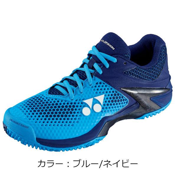 ヨネックス(yonex) パワークッションエクリプション2 メン GC テニスシューズ (18AW) ブルー/ネイビー SHTE2MGC-524