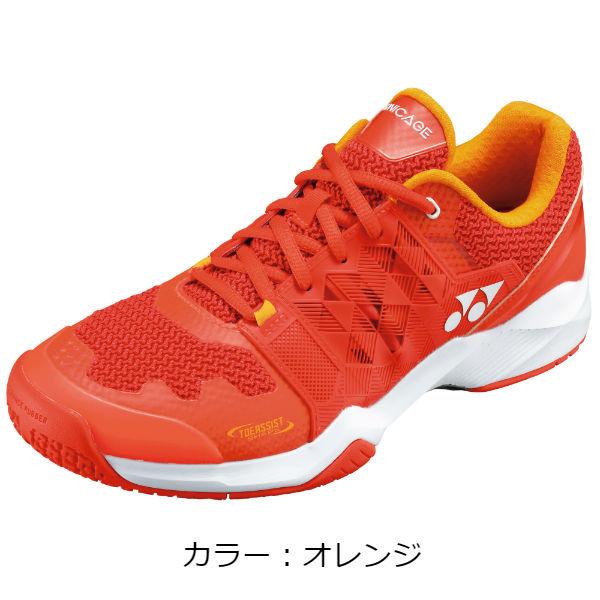 ヨネックス(yonex) パワークッションソニケージ メン GC テニスシューズ (18AW) オレンジ SHTSMGC-005【P8T】