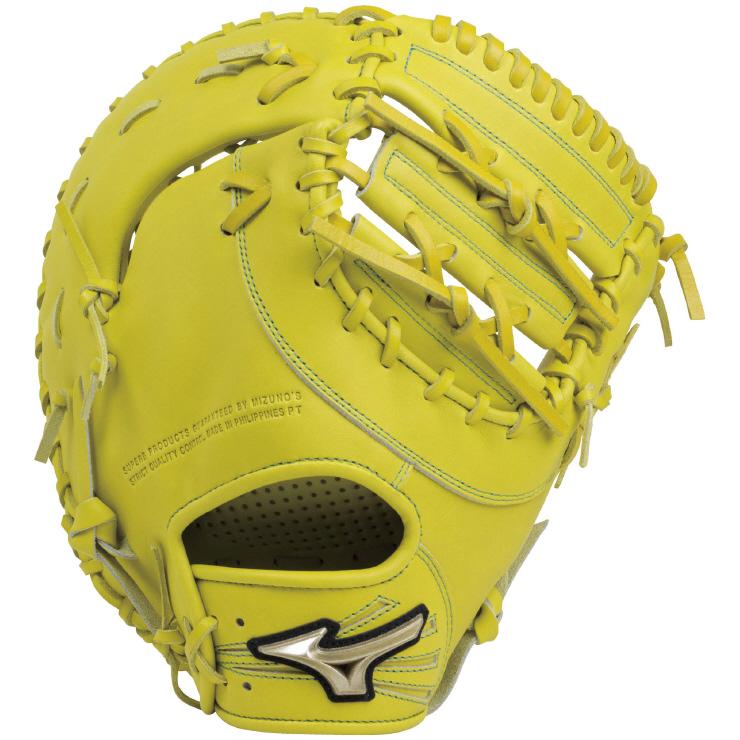 ミズノ(mizuno) Hselection02 グローバルエリートRG 一般軟式用グラブ 一塁手用 TK型 グローブ (18aw) ナチュラルライム 1AJFY19300 野球用品