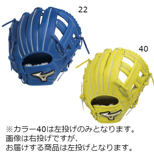 ミズノ(mizuno) Hselection02 グローバルエリートRG 少年軟式用グラブ オールラウンド用 サイズM グローブ ジュニア (18aw) ロイヤルブルー/ナチュラルライム 左投げあり 1AJGY19310 野球用品