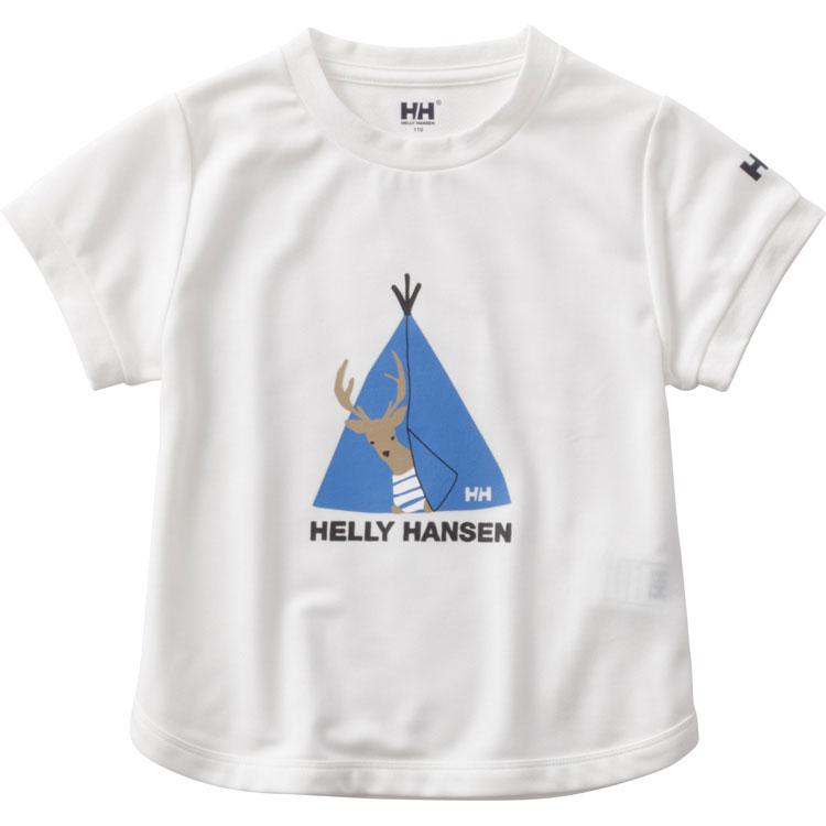 ヘリーハンセン(HELLY HANSEN) キッズ TシャツアニマルフレンドTee(18ss) ホワイト HOJ61804-W