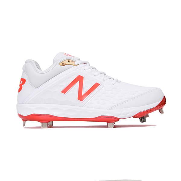 ニューバランス(Newbalance) L3000 AS4 ベースボール スパイク メンズ (18fw) レッド 25.0cm-29.0cm L3000AS4D 野球用品