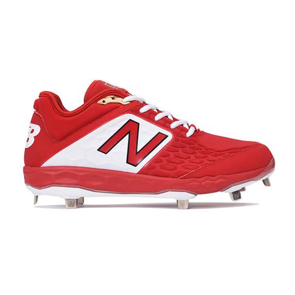 ニューバランス(Newbalance) L3000 TR4 ベースボール スパイク メンズ (18fw) レッド 24.0cm-30.0cm L3000TR4D 野球用品