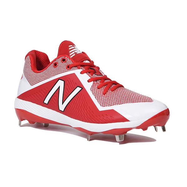 ニューバランス(Newbalance) L4040 TR4 ベースボール スパイク メンズ (18fw) レッド 24.0cm-30.0cm L4040TR4D 野球用品