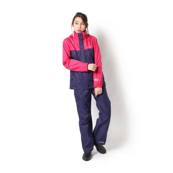 コロンビア(Columbia) シンプソンサンクチュアリウィメンズレインスーツ (18ss) Bright Rose PL0125-600【特価】