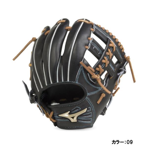 ミズノ(mizuno) 硬式用 グローバルエリート H Selection00+インフィルダースペシャル 内野手用:サイズ7 グラブ 一般 (19ss) ブラック 右投げ 1ajgh20603