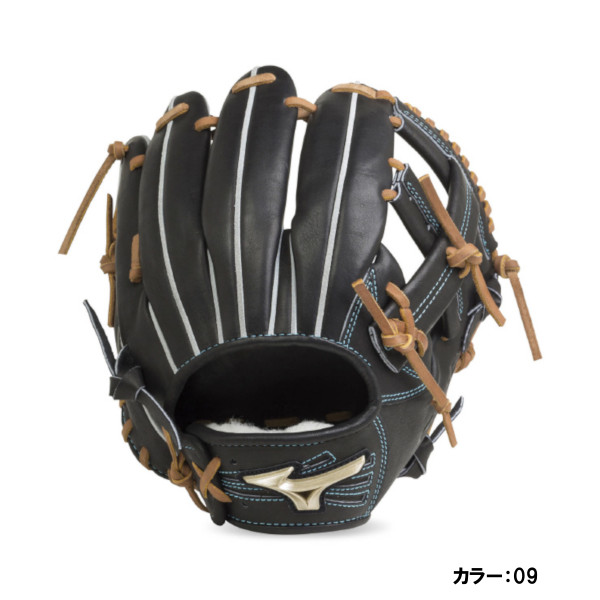 ミズノ(mizuno) 硬式用 グローバルエリート H Selection00+インフィルダースペシャル 内野手用:サイズ10 グラブ 一般 (19ss) ブラック 右投げ 1ajgh20633 野球用品