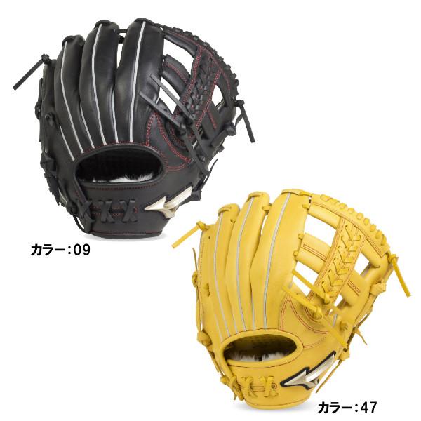 ミズノ(mizuno) 少年軟式用 グローバルエリートRG H Selection02 オールラウンド用:サイズS グラブ ジュニア (19ss) ブラック/ナチュラル 右投げ 1ajgy20400 野球用品