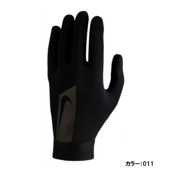 ナイキ(nike) ナイキ ハイパーウォーム アカデミー グローブ メンズ (18fw) ブラック×ブラック×ブラック gs0373-011【ss2003】