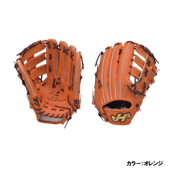ハタケヤマ(HATAKEYAMA) K硬式シリーズ 2018 硬式外野手用 グラブ 一般 オレンジ 左投げ k-78jcr 野球用品