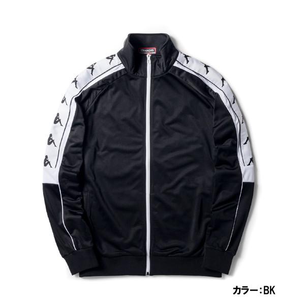 カッパ(Kappa) BANDA ニットジャケット ジャケット ユニセックス メンズ レディース (18fw) ブラック k08y2wk68m-bk