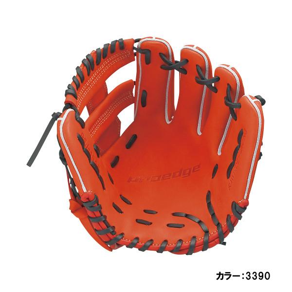 エスエスケイ(SSK) proedge(プロエッジ) 少年軟式内野手用 グラブ ジュニア (18fw) レディッシュオレンジ×ブラック レングス:M 右投げ pej184f-3390